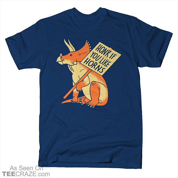 Honk If You Like Horns T-Shirt