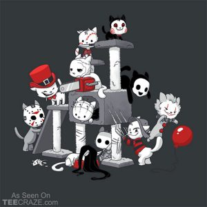 Horror Cats T-Shirt