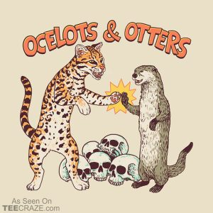 Ocelots And Otters T-Shirt