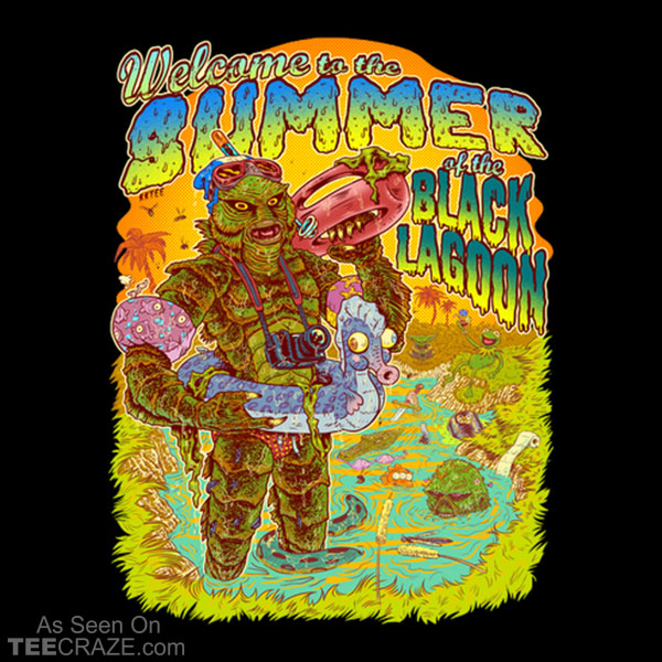 Summer Of The Black Lagoon T-Shirt