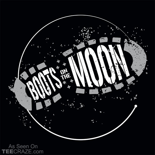 Boots On The Moon T-Shirt