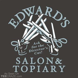 Edward's Salon And Topiary T-Shirt