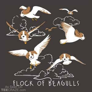 Flock Of Beagulls T-Shirt