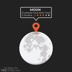 Moon Location T-Shirt