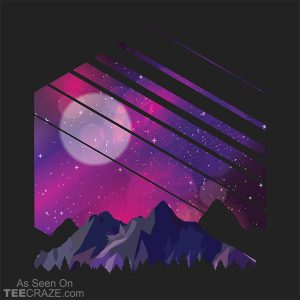 Mountain Galaxy T-Shirt
