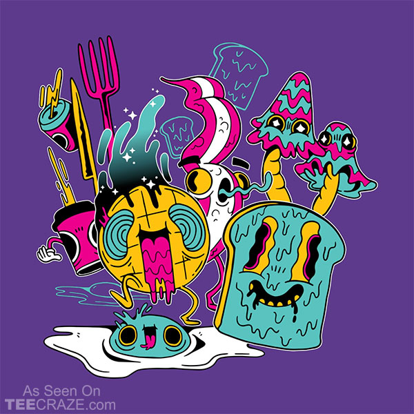 Psychedelic Breakfast T-Shirt