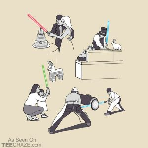 Everyday Sabers T-Shirt