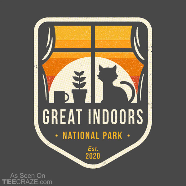 Great Indoors National Park T-Shirt