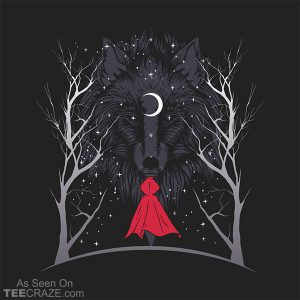 Red Hood Night T-Shirt