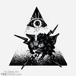 The All Seeing Cat T-Shirt