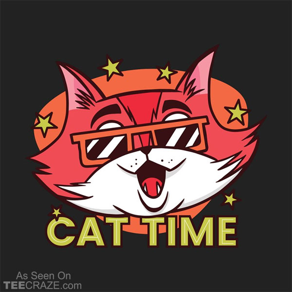 Cat Time T-Shirt