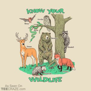 Know Your Wildlife T-Shirt