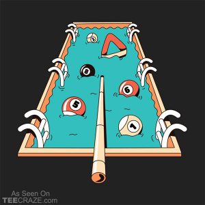 Pool Games T-Shirt