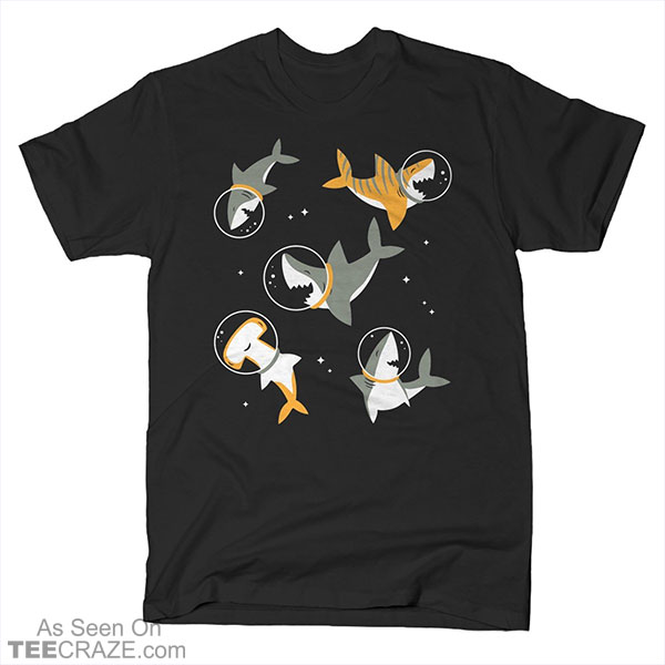 Sharks In Space T-Shirt
