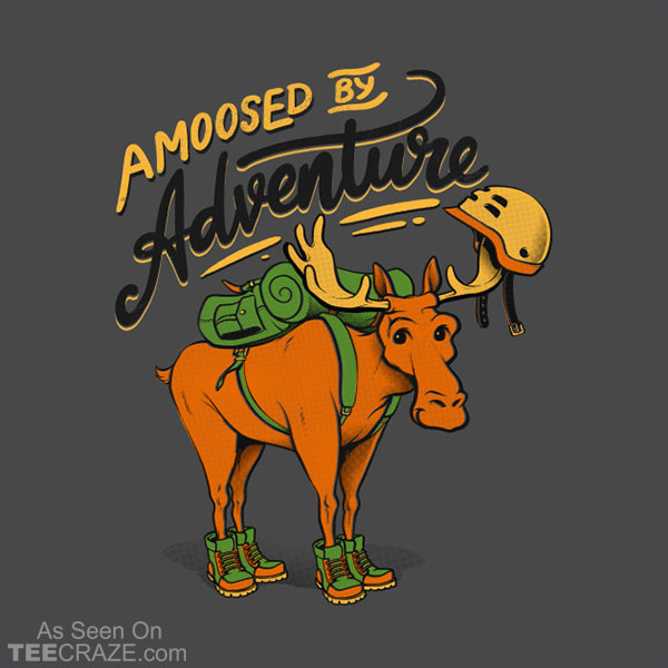 Amoosed by Adventure T-Shirt