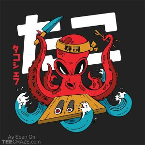 Octopus Chef T-Shirt