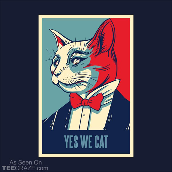Yes We Cat T-Shirt