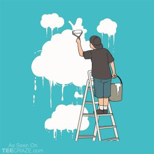 Cloud Painter T-Shirt