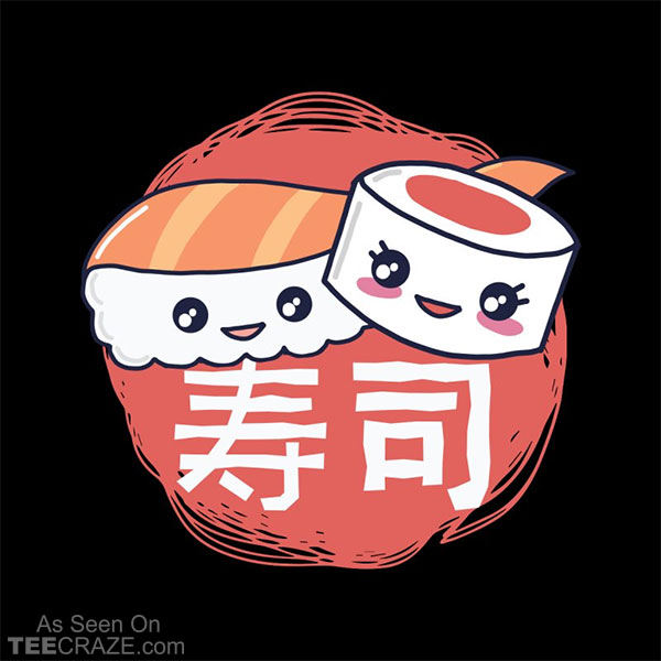 Pieces Of Sushi T-Shirt