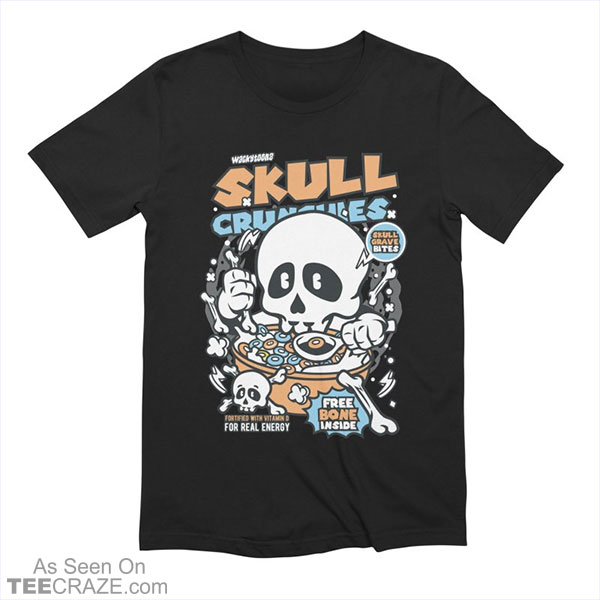Skull Crunchies Cereal T-Shirt