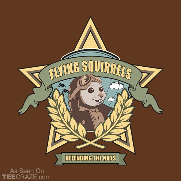 Flying Squirrel Squadron T-Shirt