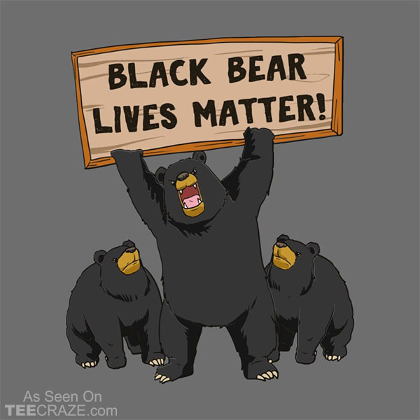 Black Bear Lives Matter T-Shirt
