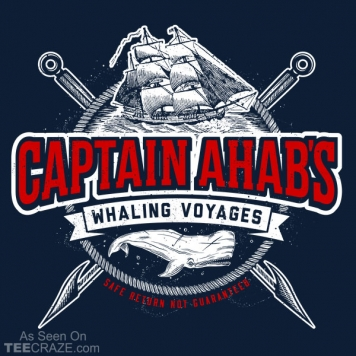 Ahab's Whaling Voyages T-Shirt