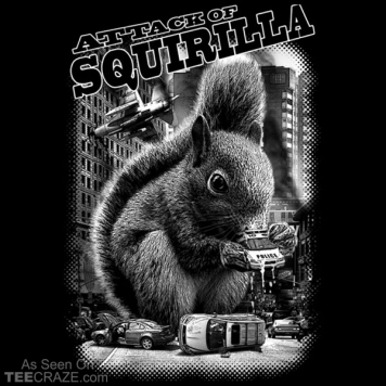 Attack Of Squirilla T-Shirt