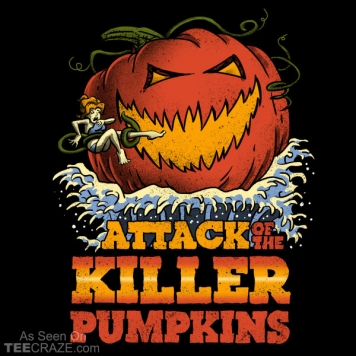 Attack Of The Killer Pumpkin T-Shirt