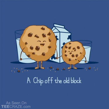 Chip Off The Old Block T-Shirt