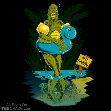 Creature From The Shallow Lagoon T-Shirt