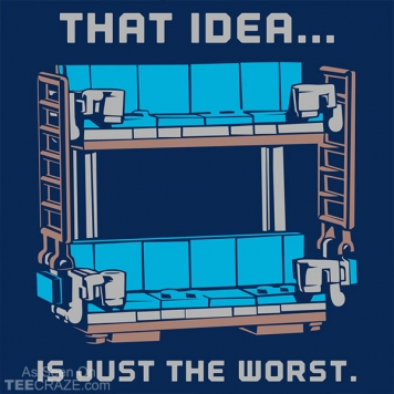 Double Decker Couch T-Shirt