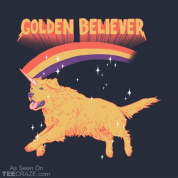 Golden Believer T-Shirt