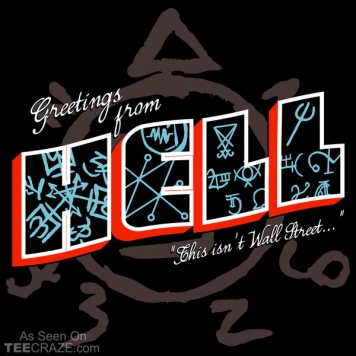 Greetings From Hell T-Shirt