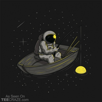 Lonely Fishing T-Shirt