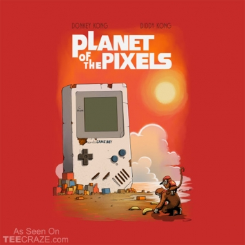 Planet Of The Pixels T-Shirt