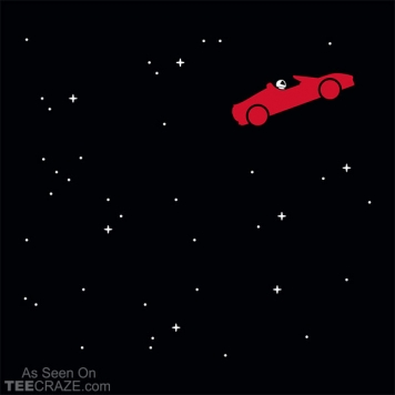 Space Road T-Shirt