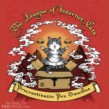 The League Of Internet Cats T-Shirt