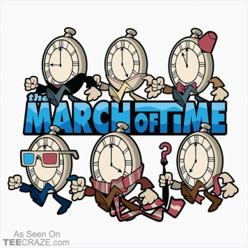 The March Of Time T-Shirt