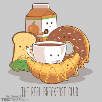 The Real Breakfast Club T-Shirt