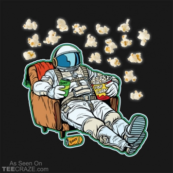 Watching Space Movies T-Shirt