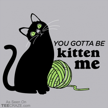 You Gotta Be Kitten Me T-Shirt